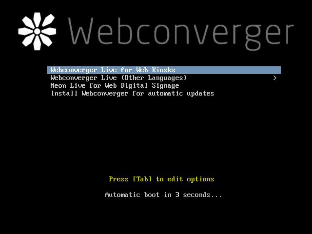 Conheça O Webconverger Um Sistema GNU Linux Para Quiosque Cibercafé