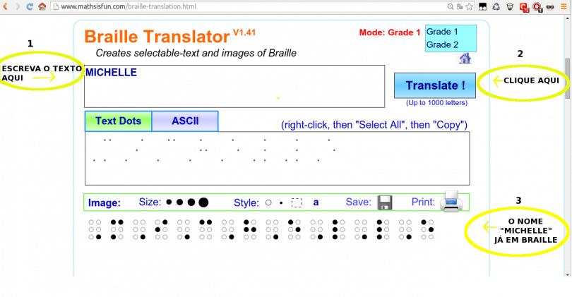 Como Criar Textos Em Braille Com Braille Translation 4