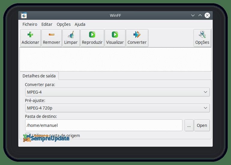 Como Instalar Winff No Ubuntu Conversor De Video 2019