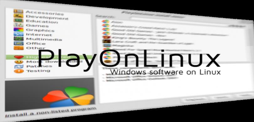 Instalar Playonlinux Ubuntu Debian Fedora No Linux