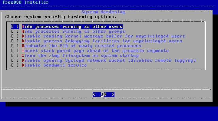 FreeBSD - configuração de segurança servidor