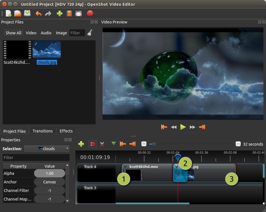 Editores De Videos Para O Linux Openshot