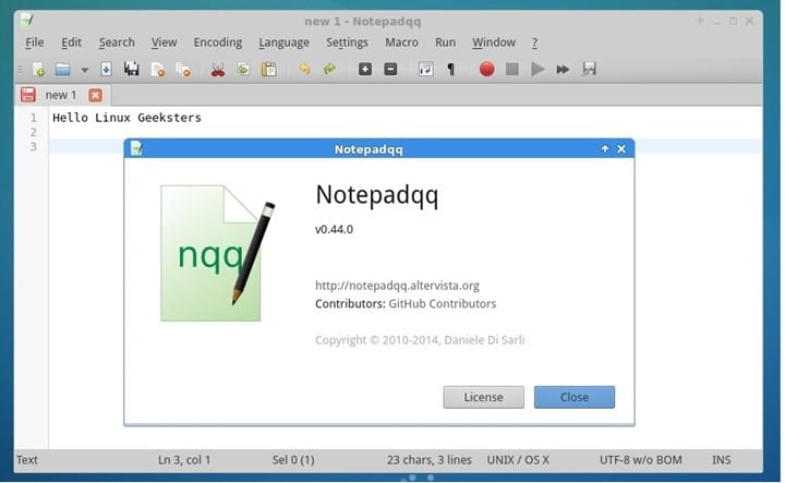 Como Instalar o Notepadqq