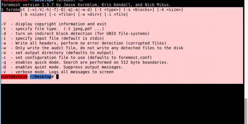 Como recuperar arquivos deletados