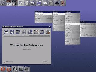 Review do Window Maker, uma ambiente simples e que algumas distribuições estão começando a implementar!