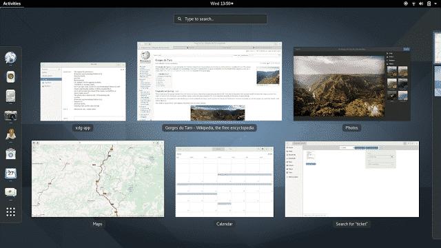 criar atalhos no GNOME Shell