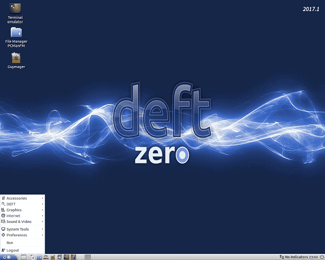 GNU/Linux DEFT Zero 2017.1