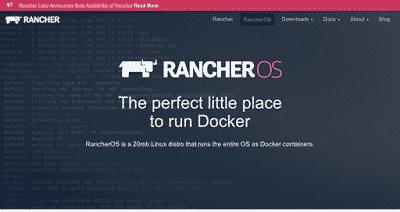 GNU/Linux RancherOS 0.8.0