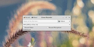 Como instalar o Green Recorder no Ubuntu, Debian, Fedora, Arch Linux, em qualquer distro Linux