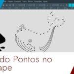 Ilustração de Ligar Pontos com o Inkscape