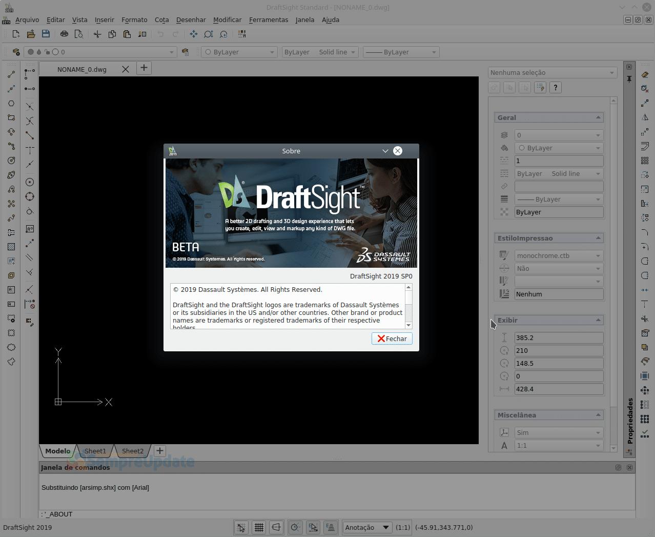 Como Instalar Draftsight No Ubuntu Debian Linux Mint Autocard 2019 1