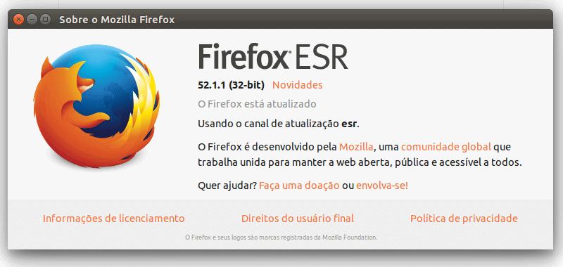 Firefox ESR 60 está disponível no Ubuntu como snap