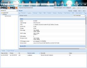 Proxmox-Dashboard