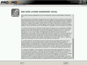 Proxmox – Licence