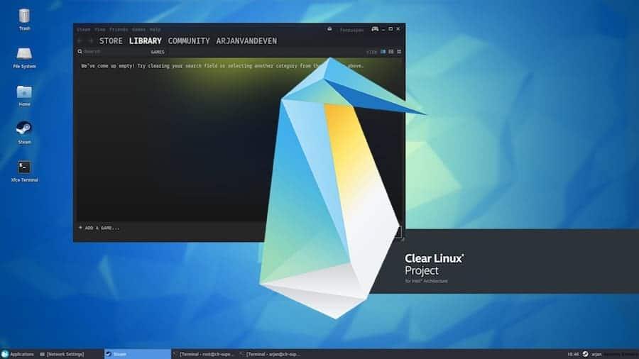 """Clear Linux desenvolve """"libSuperX11"""" para otimização"""