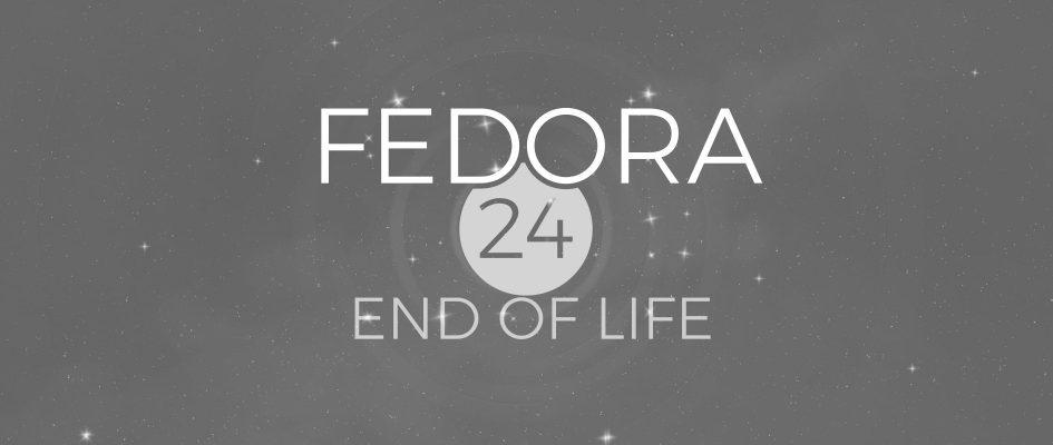 Fedora 24 Fim Ciclo De Vida Suporte