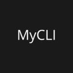 papel de parade com o nome do mycli