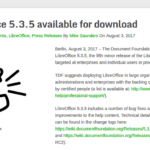 LibreOffice 5.3.5 LibreOffice