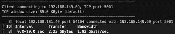 testar transferência servidores linux velocidade ubuntu debian centos