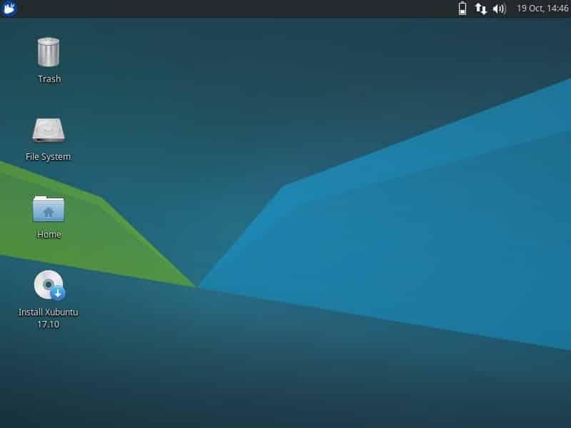 Xubuntu 17.10 Linux 2017