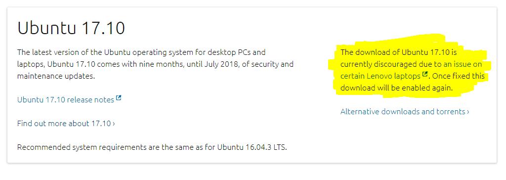 erro-ubuntu-17.10-canonical-lenovo-dell