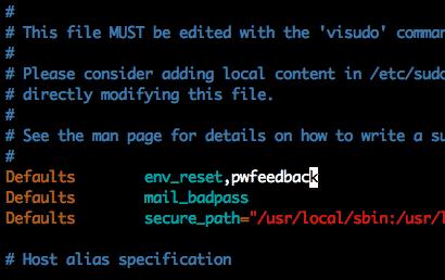 Como Exibir Asteriscos Ao Digitar A Senha Sudo No Linux