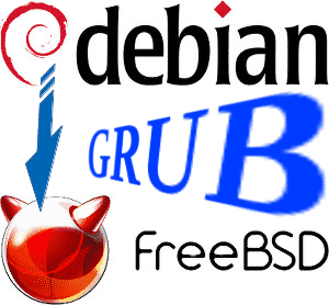 Adicionar o FreeBSD no Grub do Debian