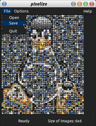 Salvando a imagem renderizada
