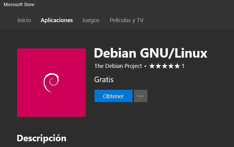 Debian MicrosoftStore 2