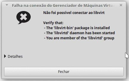 Como instalar o KVM no Fedora, Ubuntu, Debian, CentOS