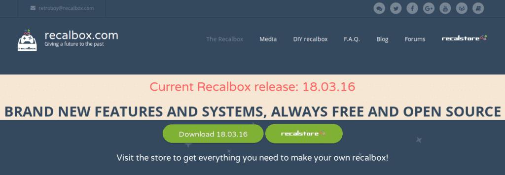 Site Recalbox