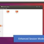 como criar uma máquina virtual do Ubuntu no Windows 10 no Hyper-V com Modo de sessão aprimorada conforme as orientações da Microsoft.