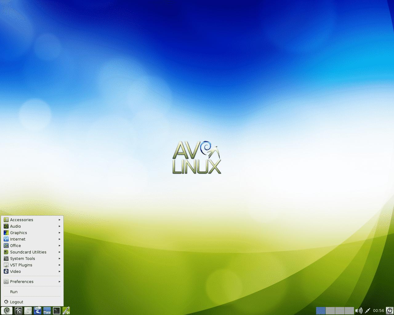 AV Linux Desktop