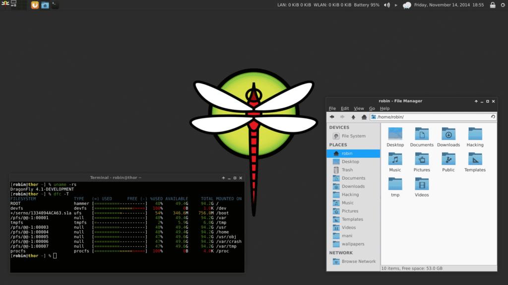 DragonFlyBSD 6.0 lançado com muitas otimizações de kernel e outras melhorias