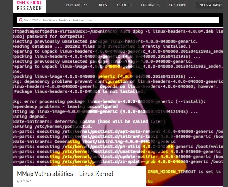 Falhas Debian