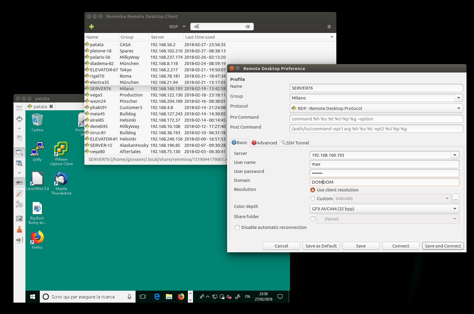 Como instalar o Remmina no Ubuntu, Fedora, openSUSE