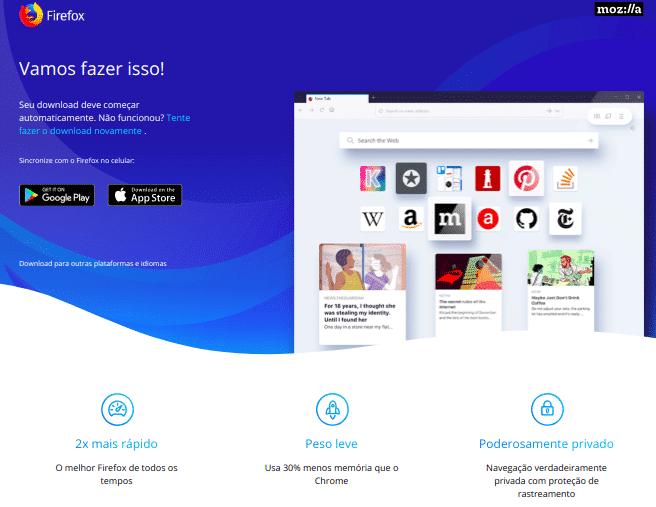 Página Firefox