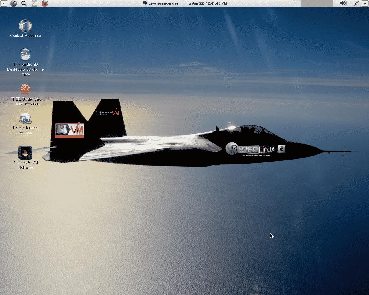 Robolinux desktop