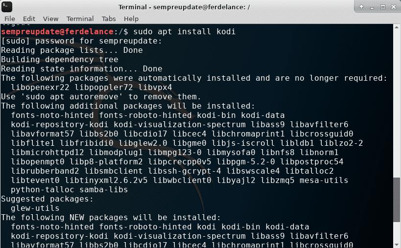Como instalar programas pelo terminal em varias distribuições Linux