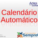 criar calendários automaticamente no Inkscape