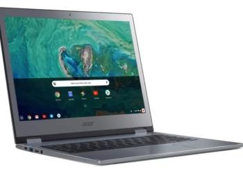 Acer Chromebook 13 e Chromebook Spin 13 suportam aplicações Linux