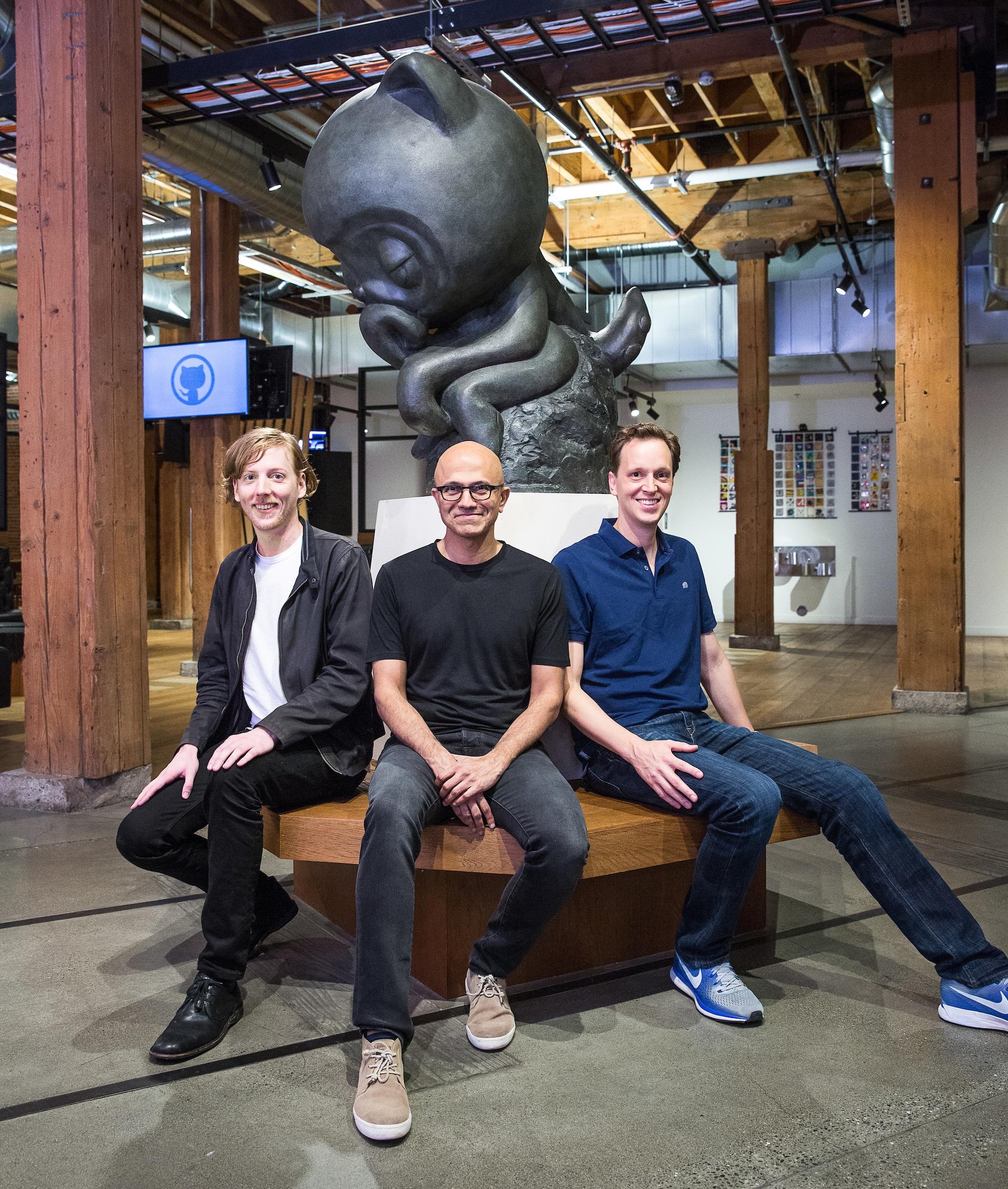 Nova equipe GitHub Microsoft
