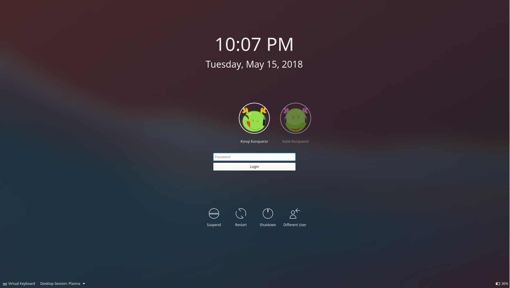 KDE Plasma 5.13 foi lançado com suporte até setembro