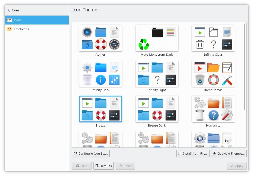 Central de ajuda KDE Plasma 5.13