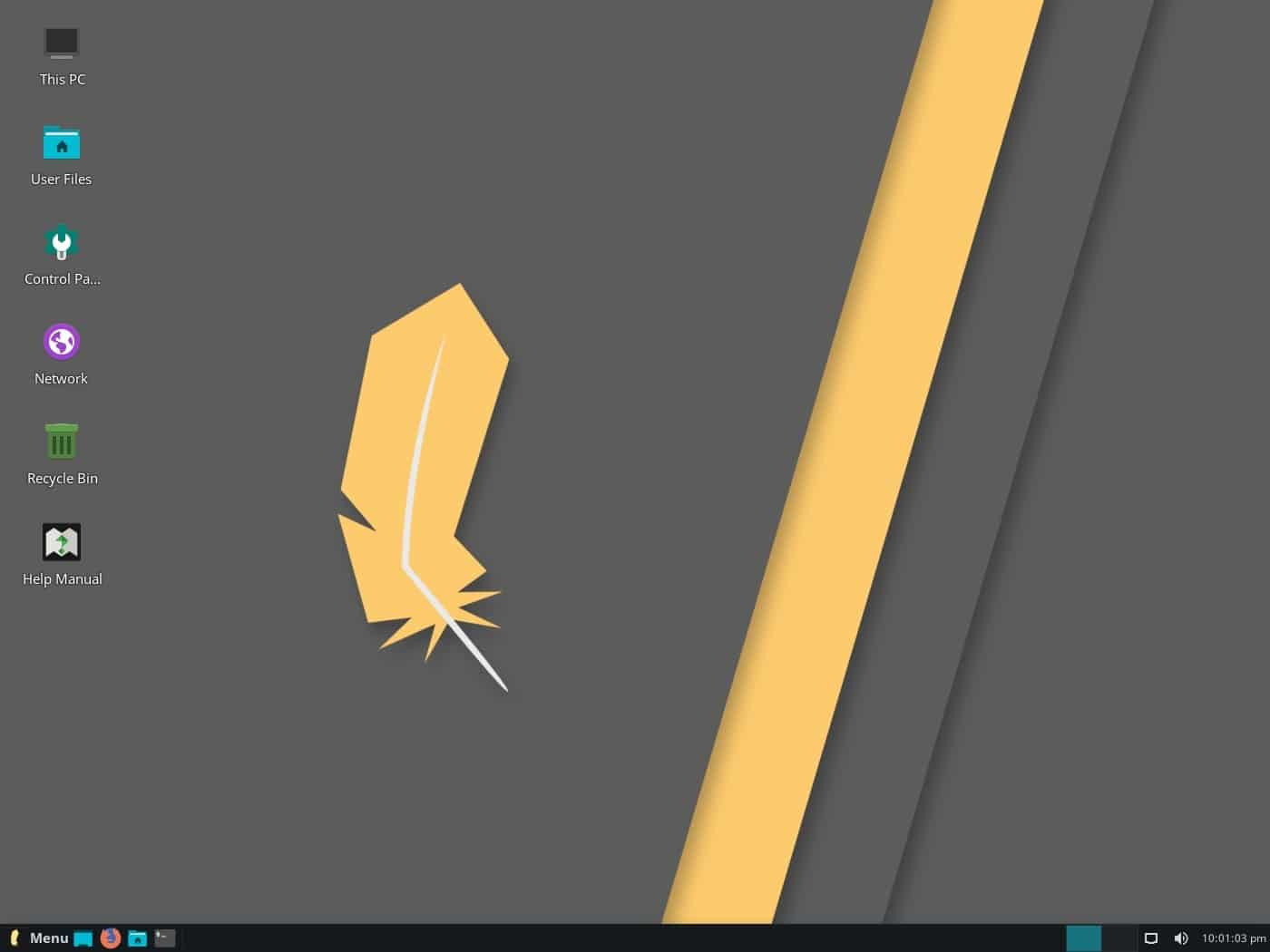 Linux Lite desktop