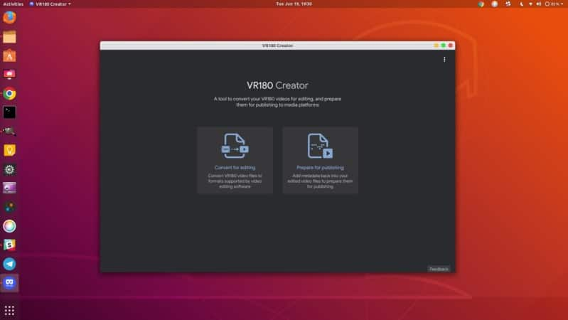 VR180 Creator