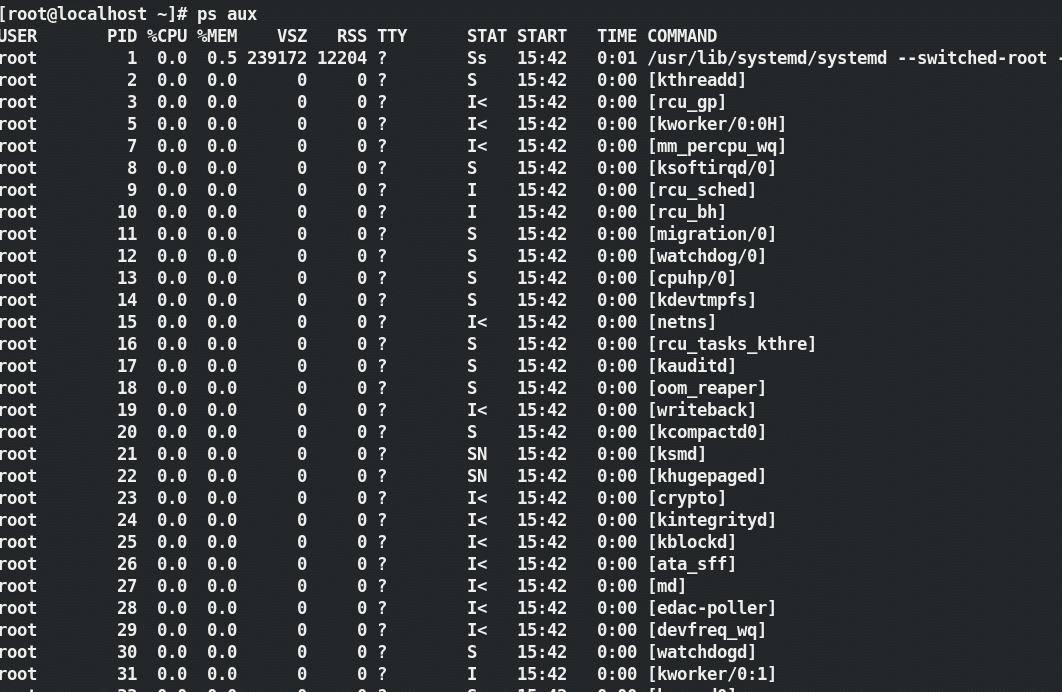 006 - ps aux - 5 comandos Linux para monitorar o uso da CPU