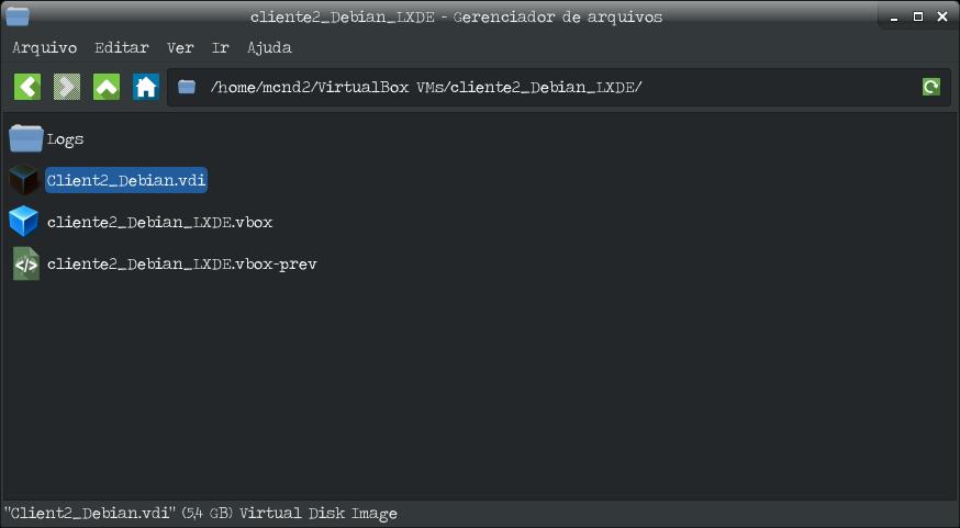 Como redimensionar o tamanho do disco de uma VM do virtualbox - Disco 5GB