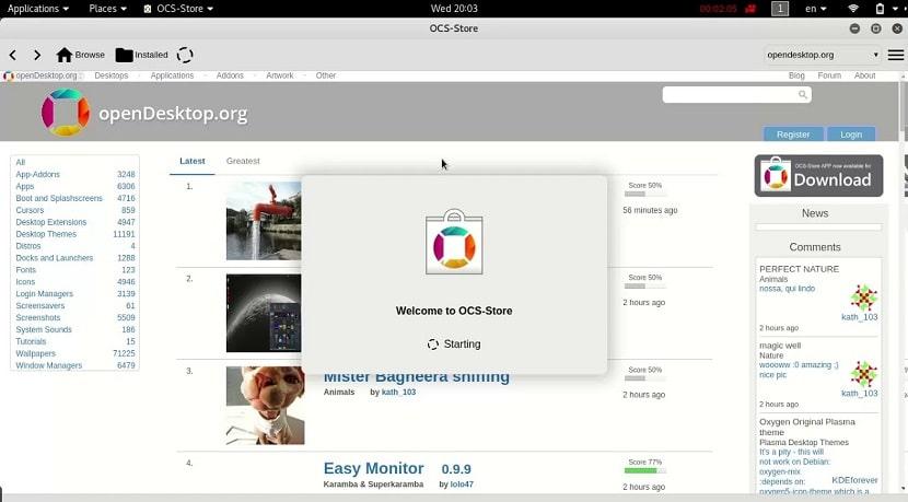 46c229d6a28 OCS-Store: uma loja unificada de temas, ícones e aplicativos para Linux.  Share. Share on ...