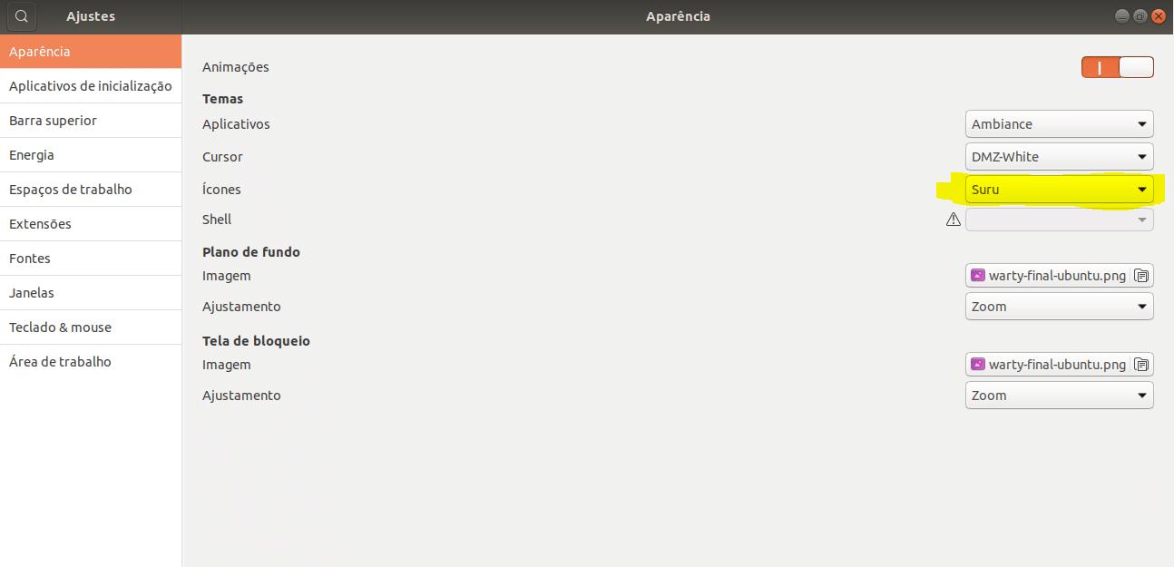 como-instalar-tema-de-icones-suru-no-ubuntu-1804